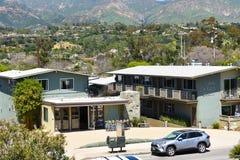 De Herberg bij het Strand Santa Barbara van het Oosten stock foto