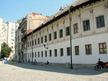 De Herberg van Manuc (Hanul Manuc) Boekarest royalty-vrije stock afbeeldingen