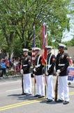 De herdenkings Parade van de Dag in Washington, gelijkstroom. Stock Afbeelding