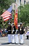 De herdenkings Parade van de Dag in Washington, gelijkstroom. Royalty-vrije Stock Foto's