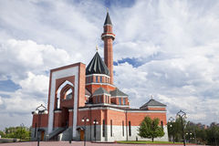 Rusland. Moskou. Moskee Royalty-vrije Stock Foto's