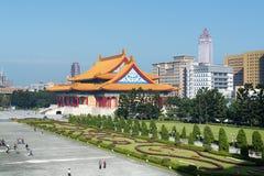 De Herdenkingstuin van Chiang Kai-shek in Taipeh - Taiwan Stock Afbeeldingen