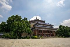 De HerdenkingsZaal van Yat Sen van de zon Stock Foto