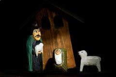 De herder van de geboorte van Christus Stock Afbeeldingen