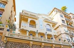 De herenhuizen van Monaco royalty-vrije stock fotografie