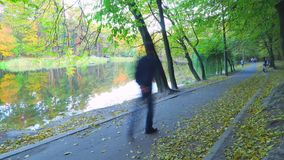 De herfst stock footage