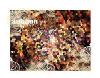 De herfst - abstracte achtergrond Stock Afbeelding