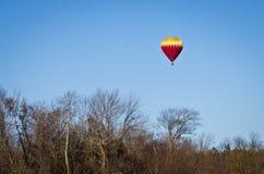 De herfst Ballooning stock afbeelding