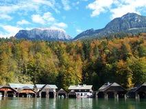 De herfst Beieren Stock Afbeelding