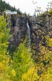 De herfst bij Bruidssluierdalingen Royalty-vrije Stock Foto's