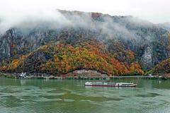 De herfst bij de Kloven van Donau Royalty-vrije Stock Afbeelding