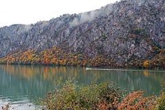 De herfst bij de Kloven van Donau Stock Fotografie