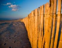 De herfst bij het strand Royalty-vrije Stock Foto