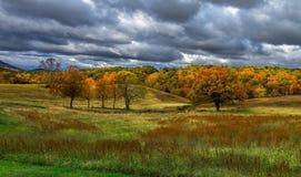 De herfst in Blairsville Stock Foto