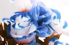 de herfst blauwe bloemen Stock Fotografie