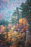 De herfst bluff Royalty-vrije Stock Afbeeldingen