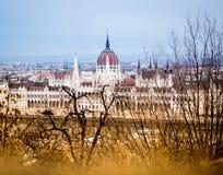 De herfst in Boedapest Stock Foto's