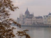 De herfst in Boedapest Royalty-vrije Stock Fotografie