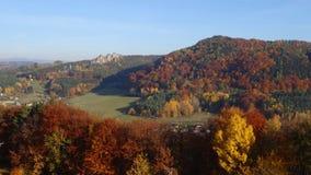 De herfst in Boheems paradijs Stock Fotografie