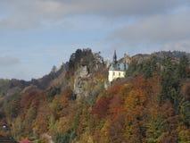 De herfst in Boheems paradijs Stock Foto