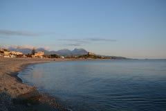 De herfst in Calabrië Royalty-vrije Stock Foto's