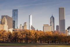 De herfst in Chicago Royalty-vrije Stock Foto