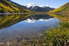 De herfst in Colorado Stock Fotografie