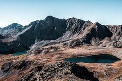 De herfst in Colorado Rocky Mountains, Sawatch-Waaier stock foto