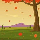 De herfst in de berg Royalty-vrije Stock Fotografie