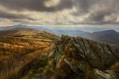 De herfst in de bergen Royalty-vrije Stock Foto's