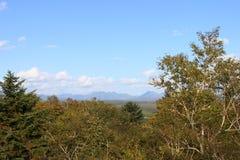 De herfst in de bergen Royalty-vrije Stock Foto