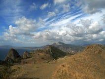 De herfst in de Krim Royalty-vrije Stock Afbeelding