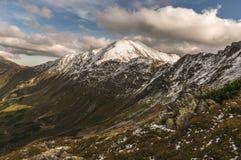 De herfst in de Tatra-Bergen Stock Afbeeldingen