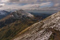 De herfst in de Tatra-Bergen Stock Fotografie