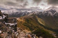 De herfst in de Tatra-Bergen Royalty-vrije Stock Fotografie