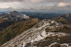 De herfst in de Tatra-Bergen Royalty-vrije Stock Foto's