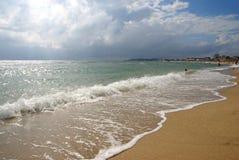 De herfst in de Zwarte Zee Stock Foto
