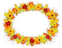 De herfst doorbladert frame Vector Illustratie