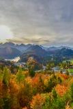 De herfst in Duitsland Royalty-vrije Stock Fotografie