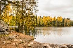 De herfst in Finland Royalty-vrije Stock Foto