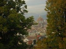 De herfst in Florence royalty-vrije stock fotografie