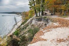 De herfst in Gdynia Royalty-vrije Stock Afbeelding