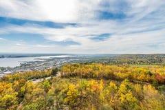 De herfst gekleurde scène Royalty-vrije Stock Foto