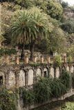 De herfst in Granada, Spanje Stock Foto's