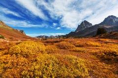 De herfst in Grand Teton Stock Afbeelding