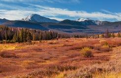 De herfst in Grand Teton Royalty-vrije Stock Afbeelding
