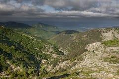 De herfst in het Italiaans berg Stock Fotografie