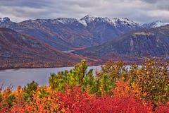 De herfst Het meer van Jack London stock foto