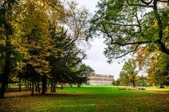 De herfst in het Park van Monza Royalty-vrije Stock Fotografie