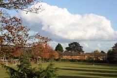 De herfst in het Verenigd Koninkrijk Royalty-vrije Stock Afbeeldingen